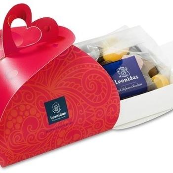 Geschenkdoos 'Dôme' hart Valentijn