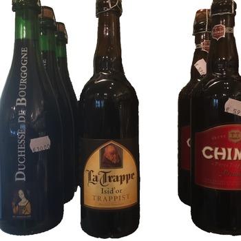 Grote fles bier 75cl